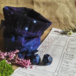 Space Dice Bag
