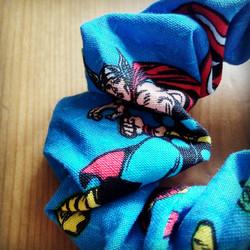 Marvel Superheroes Scrunchie