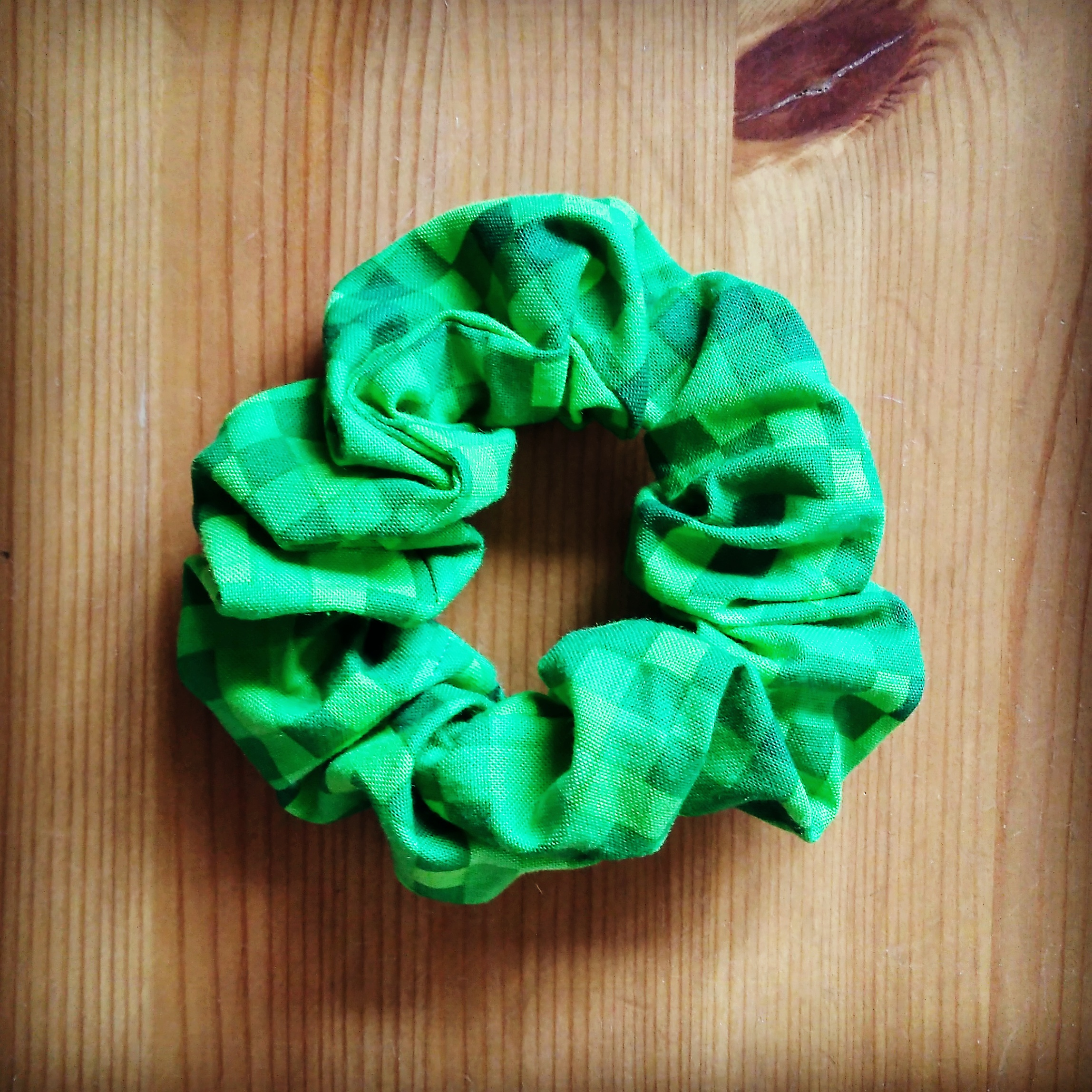 Minecraft Scrunchie