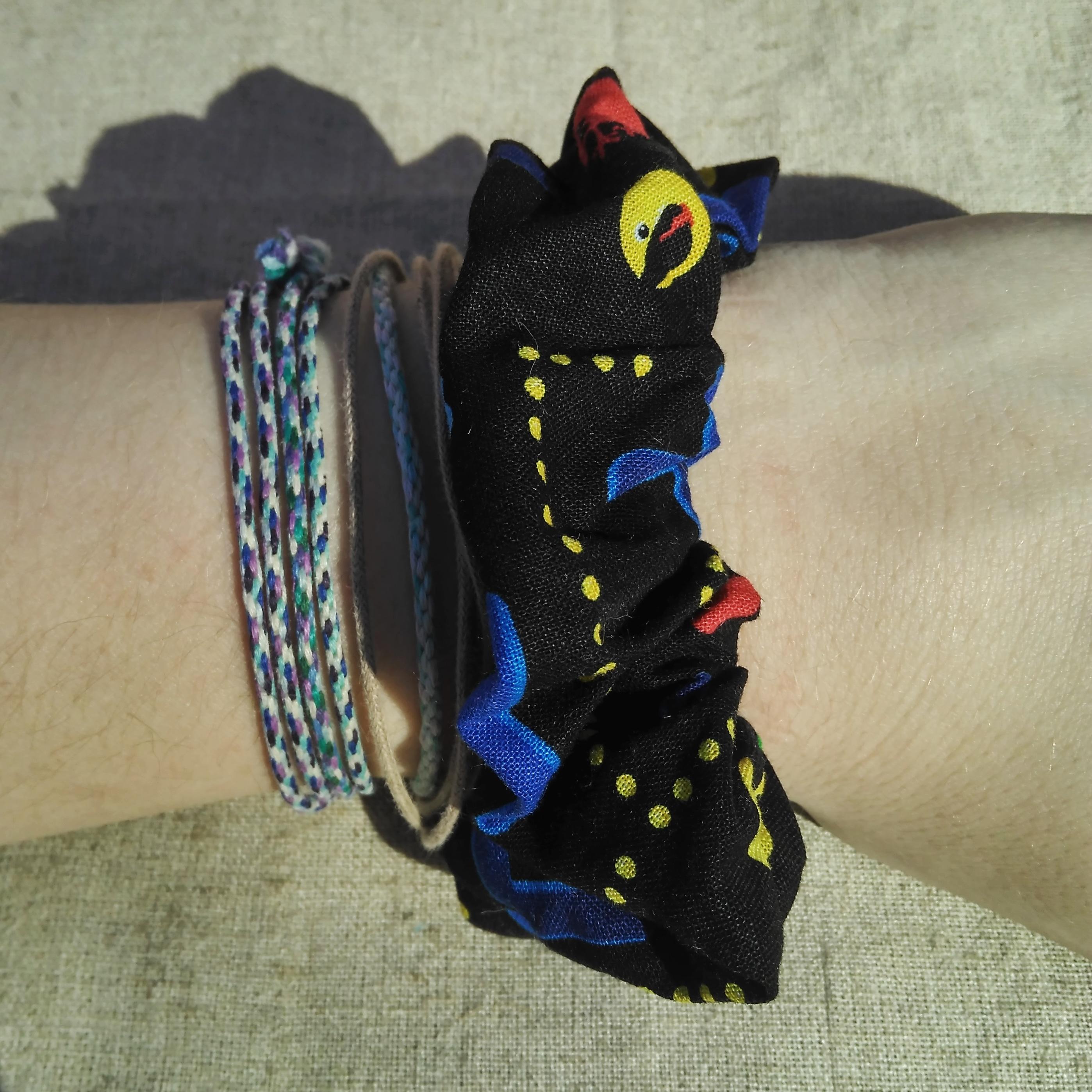 Pacman Scrunchie