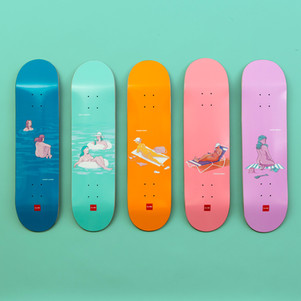 Chocolate Skateboards - Sunbathers Series