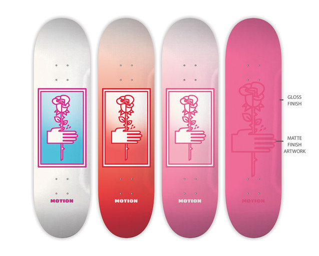 Motion Skateboards - Rose Prick