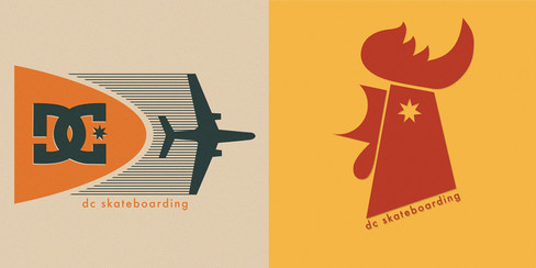 DC Skateboarding Icons