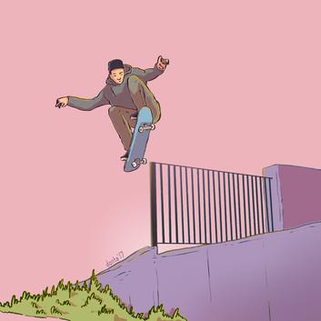 Skate Drawings