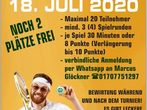 Schleifchenturnier 2020 am Samstag, 18.07.2020