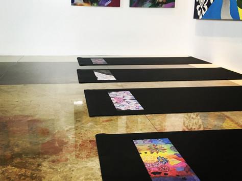 Art & Yoga are always a good idea DORI GILINSKY GALLERY presents YOGALLERY Featuring YOGART