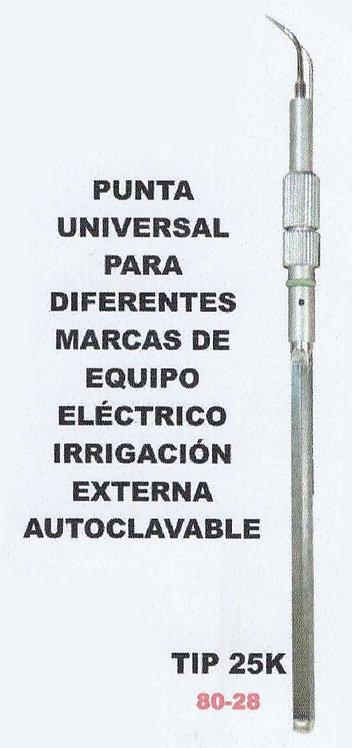 Punta universal para equipo eléctrico irrigación externa autoclave TIP 30k