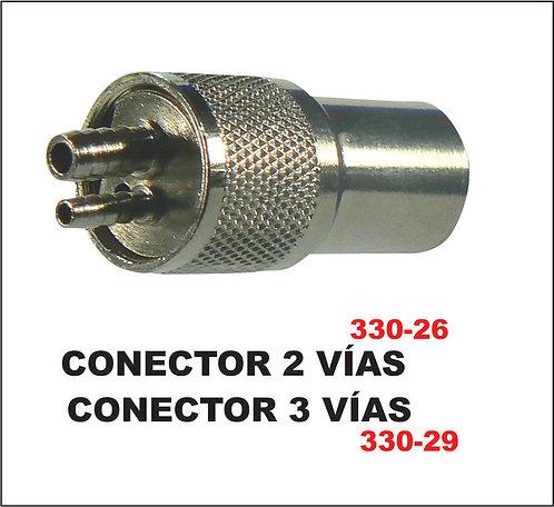 Conector 2 o 3 Vias