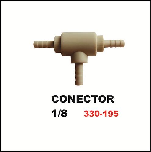 Conector 1/8