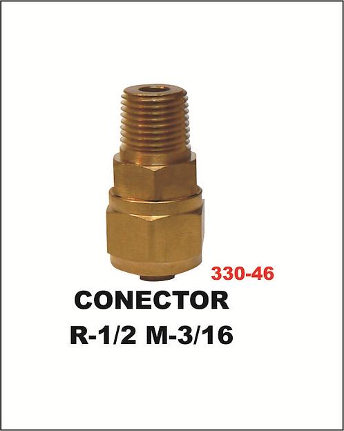 Conector R-1/2 M-3/16