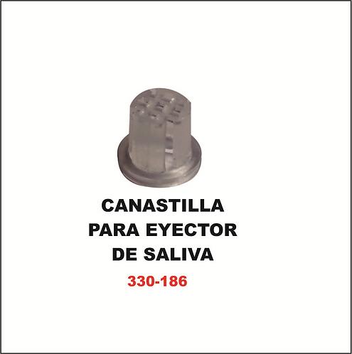 Canastilla para eyector de saliva