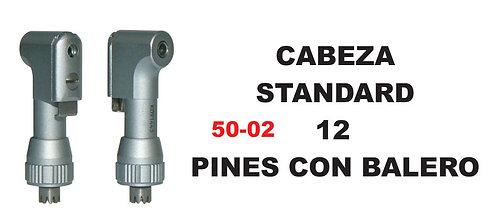 Cabeza standard 12 pines con balero
