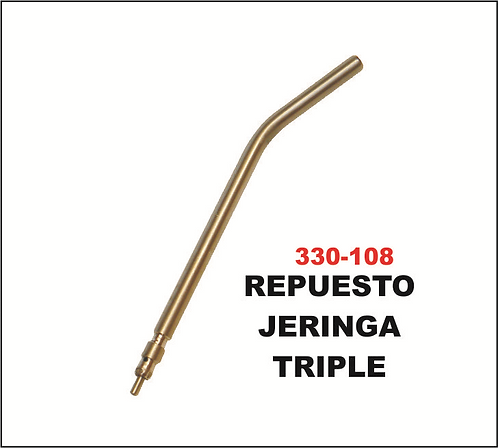 Repuesto jeringa triple
