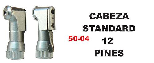 Cabeza standard 12 pines