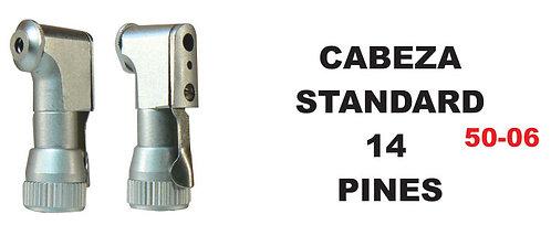 Cabeza standard 14 pines