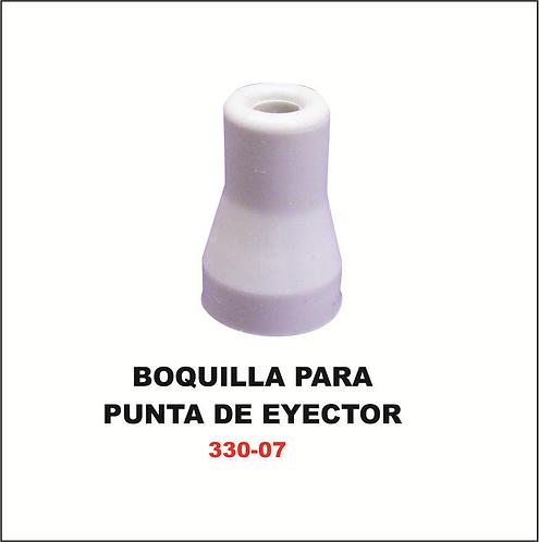 Boquilla para punta de eyector