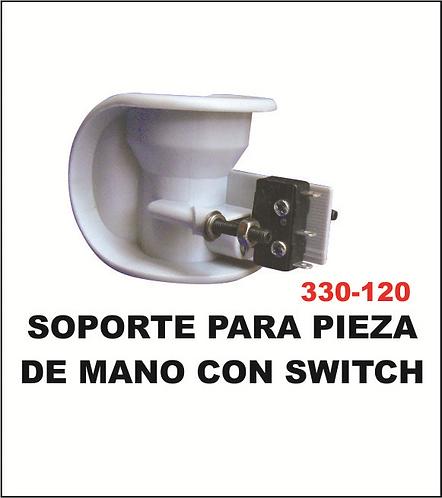 soporte para pieza de mano con switch