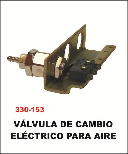 Válvula de cambio electrónico para aire
