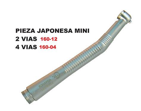 Pieza Japonesa Mini 2 y 4 Vias