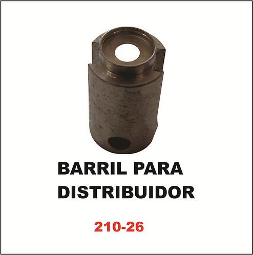 Barril para distribuidor