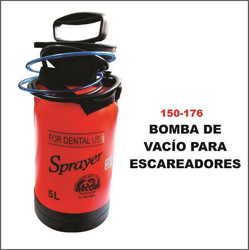 Bomba de vacio para escareadores