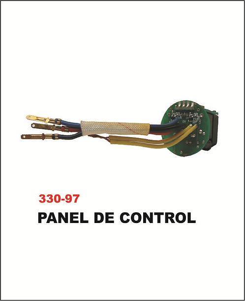 Panel del control