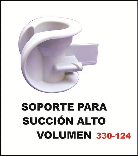 Soporte para succión alto volumen
