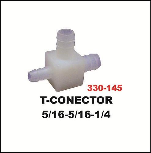 T-conector 5/16-5/16-1/4
