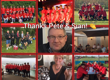 Thank you Pete & Sian and the U16 Sports! 👏
