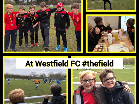 A great afternoon at Westfield FC