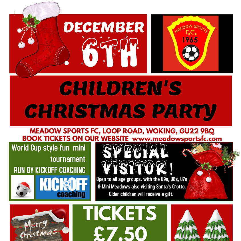 Meadow Children's Christmas party