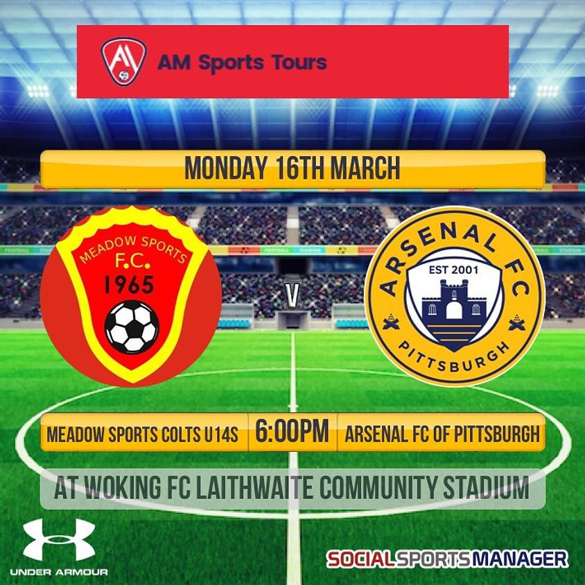 Meadow Sports Colts U14s v Arsenal FC of Pittsburgh U14s