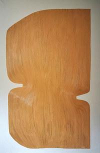 The silence of the sun, 2020, huile sur toile, 140x210 cm,