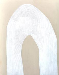 L'envolée céleste, juillet 2020, huile sur toile, 114x146 cm