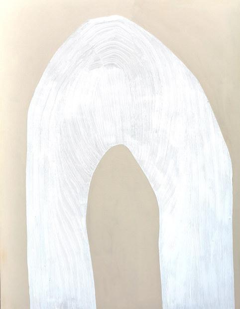 L'envolée céleste, 2020, huile sur toile, 114x146 cm