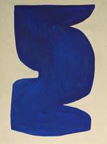 La figure du vivant 60, 2020, huile sur papier, 30x40 cm  // COLLECTION PRIVEE