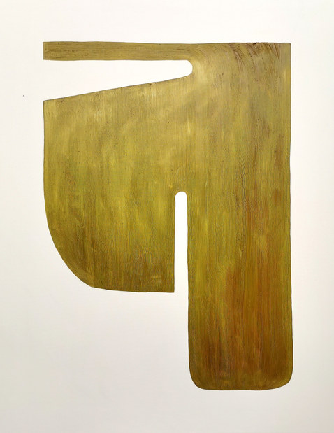 Architecture végétale, 2020, huile sur toile, 114x146 cm COLLECTION PRIVEE
