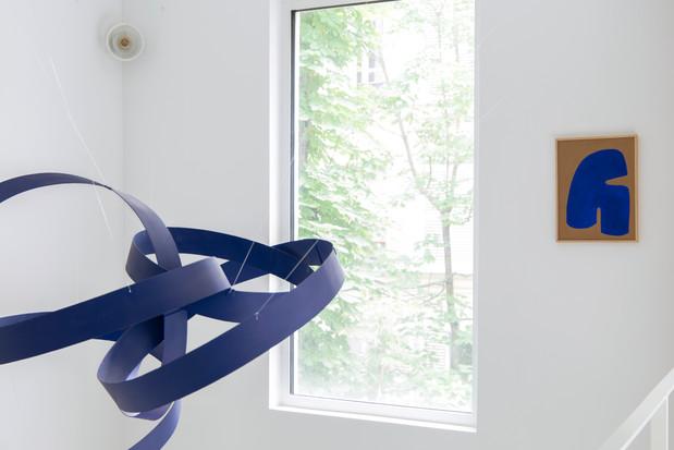 Oeuvres de Virginie Hucher et Jacques Salles, Amelie maison d'art, avril 2020 (photo Roxane Diamand)