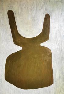 La danse du temps, 2020, huile sur toile, 81x116 cm COLLECTION PRIVEE