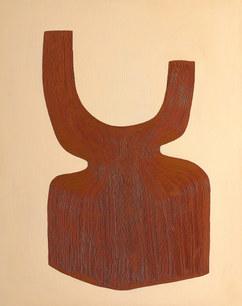 Les bois sacrés, 2020, huile sur toile, 73x92 cm // COLLECTION PRIVÉE