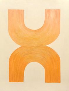 Les liens de Psyché, 2020, huile toile, 114x146 cm