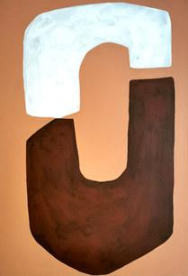 Latitudes impudiques, 2020, huile sur toile, 38x55 cm