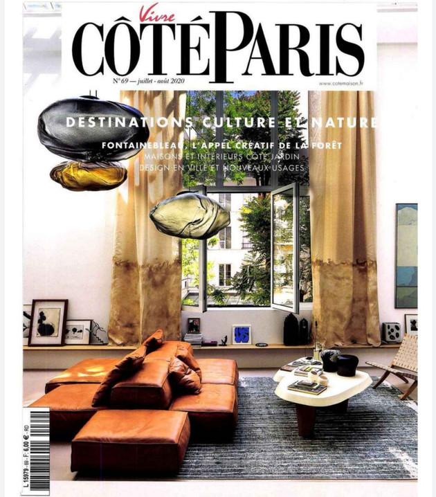 Vivre Côté Paris / Amelie Maison d'Art /Juillet-Août 2020