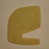 Le jardin fertile 1, 2020, huile sur papier, 11x11 cm