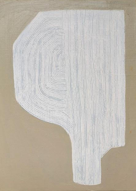 Pluie blanche, 2020, huile sur toile, 24x33 cm COLLECTION PRIVEE