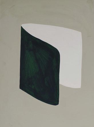 La figure du vivant 50, 2020, huile sur papier, 30x40 cm