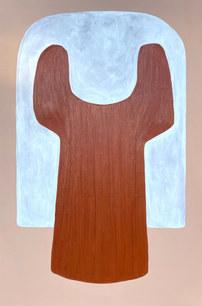 L'île aux cerfs, 2021, huile sur toile, 130x195 cm