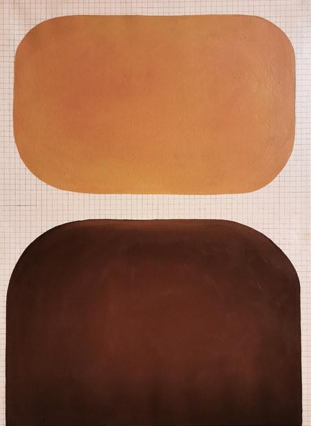 Cosmic impact, 2020, huile sur toile, 65x81 cm
