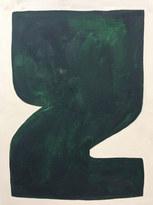 La figure du vivant 21, 2020, huile sur papier, 30x40 cm // COLLECTION PRIVÉE