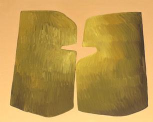 Les fleurs sauvages, 2020, huile sur toile, 92x73 cm